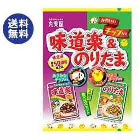 【送料無料】丸美屋 チップ入り味道楽&のりたま 36g×10袋入