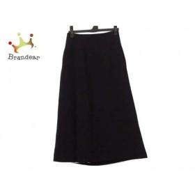 ルシェルブルー LE CIEL BLEU ロングスカート サイズ34 S レディース 美品 黒×白     スペシャル特価 20190915【人気】