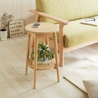 優しい風合いのサイドテーブル