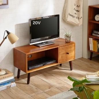 【大型商品送料無料】天然木のコンパクトテレビ台