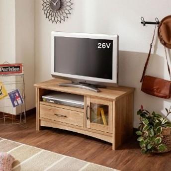 レトロ調小型テレビ台