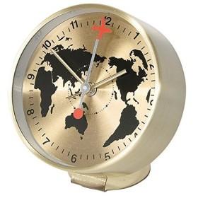 EDGE 目覚まし時計 ビサイド アラームクロック グローブ ゴールド TELR1090GD SPICE(スパイス)