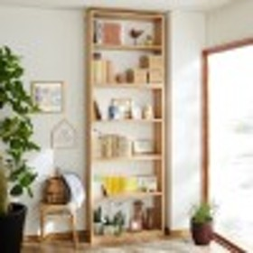 頑丈棚板の全段可動式たっぷり収納本棚