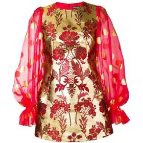 Dolce & Gabbana ジャカード ドレス - レッド