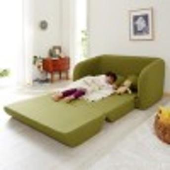 クッション付きソファーベッド