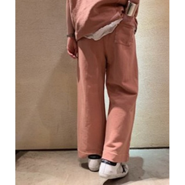 journal standard luxe 【POMANDERE/ポマンデール】 cotton Fleece easy pants◆ ピンク 42