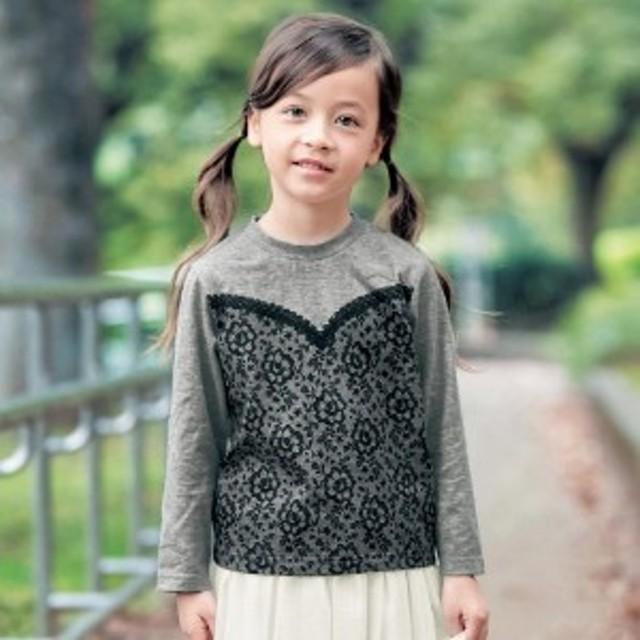 3607a0c3f3df5 長袖Tシャツ 子供服 女の子  通園 通学  通販 LINEポイント最大1.0 ...