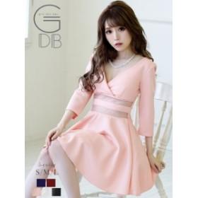 キャバドレス キャバ ドレス キャバクラ キャバワンピース パーティードレス GDB フレアー キャバドレス シンプル ナイトドレス