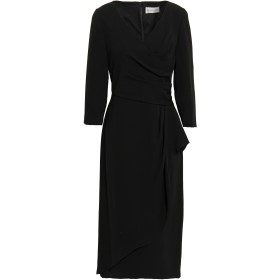Mikael Aghal Woman ラップ風 クレープ ワンピース Black Size 0