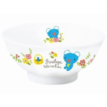 「 うっかり ペネロペ 」 フラワー こども 茶碗 直径10.5cm 子供用 食器 白 788141