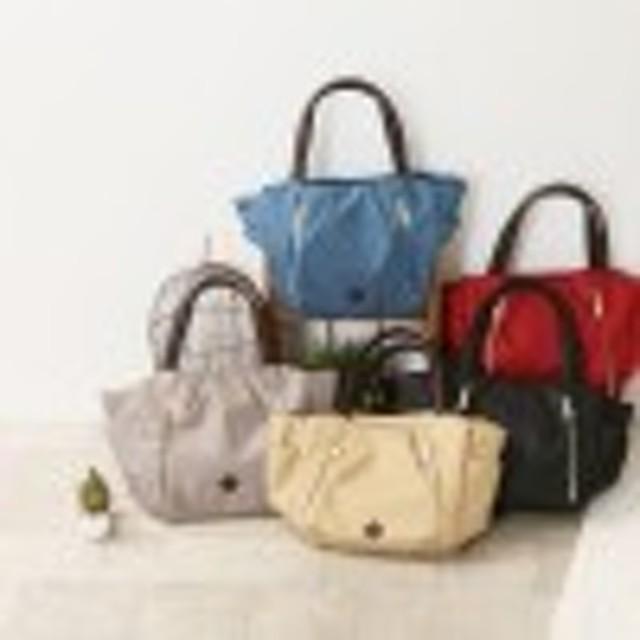 【A4対応で通勤にも◎】多収納軽量ナイロン手提げバッグ