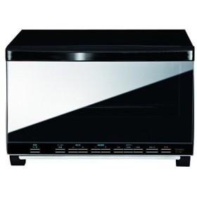 ツインバード ミラー ガラスオーブントースター BK TS-4057B ツインバード工業