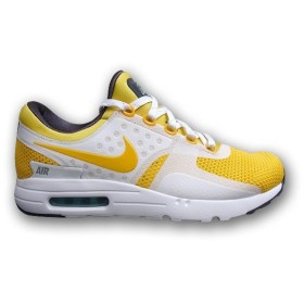 NIKE AIR MAX ZERO QS ナイキ エア マックス ゼロ 【MEN'S】 white/space blue/anthracite/vivid sulfur 789695-100