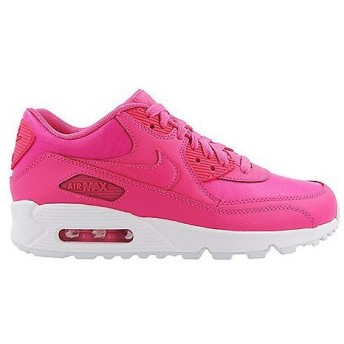 NIKE AIR MAX 90 LEATHER GS 'PINK POW' エア マックス 90 レザー GS 【GIRL'S】 pink pow/pink pow-white 724852-600