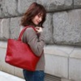 【牛革】通勤通学にも◎A4対応トートバッグ
