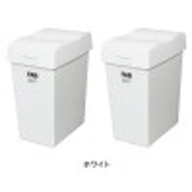 【まとめ買いでお得!】大きな開閉口のゴミ箱10L・2個セット