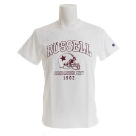 ラッセル(RUSSELL) 【オンライン特価】 BD 半袖 Tシャツ FOOTBALL RBM19S0027 WHT (Men's)