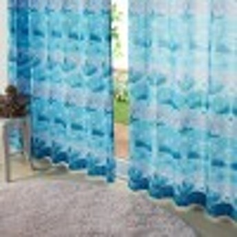 UVカット・遮像プリントボイルカーテン 「アナと雪の女王/エルサ」