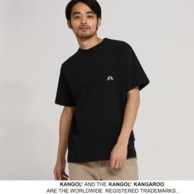 [マルイ]【セール】MTシャツ(KANGOL カンゴール 別注 コラボ Tシャツ メンズ ポケット 半袖Tシャツ)/ベース ステーション(メンズ)(BASE STATION Mens)