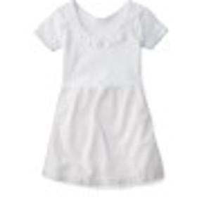 【子供靴下・通園・通学】白半袖スリップ