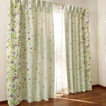 両面プリントの遮光カーテン