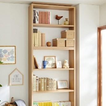 頑丈棚板の全段可動式たっぷり収納本棚 専用上置き