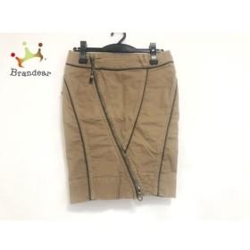 ディーゼル DIESEL スカート サイズ25 XS レディース ブラウン ジップ 新着 20190710