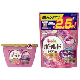 ボールド 洗濯洗剤 ジェルボール3D 癒しのプレミアムブロッサムの香り 本体 18個入 + 詰め替え 超ジャンボ 44