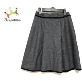ジャスグリッティー JUSGLITTY スカート サイズ0 XS レディース ダークグレー×黒   スペシャル特価 20190612