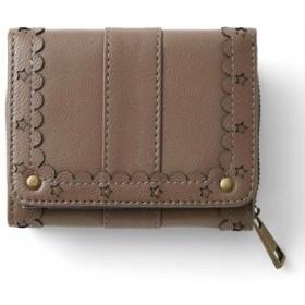 はまじとコラボ ずっと使いたい とっておきの本革ちび財布〈カフェオレベージュ〉 リブ イン コンフォート フェリシモ FELISSIMO【送料無料】