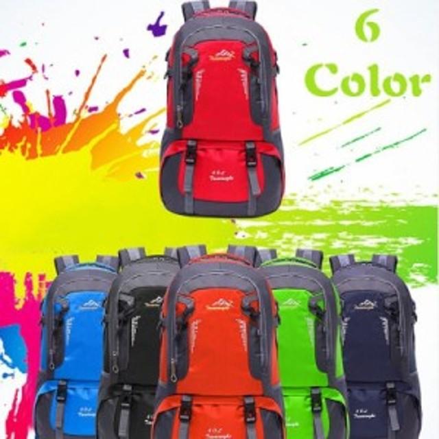 e9103953942a リュック 登山リュックサック メンズ バックパック 40L大容量 デイパック スポーツ 旅行 アウトドア ナイロン バッグ