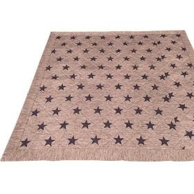 ラグマット 絨毯 / 185×185cm ベージュ / 正方形 接触冷感 キルティング 洗える 〔リビング〕 『冷感スター』【配達日時指定不可】