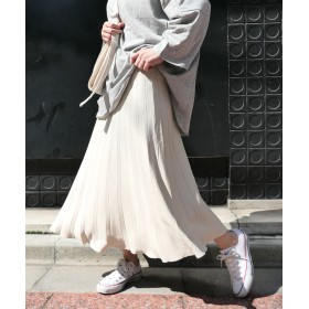 フレアスカート - CORNERS サマーニットフレアースカート 春 スカート サマーニット ニット フレアスカート プリーツスカート