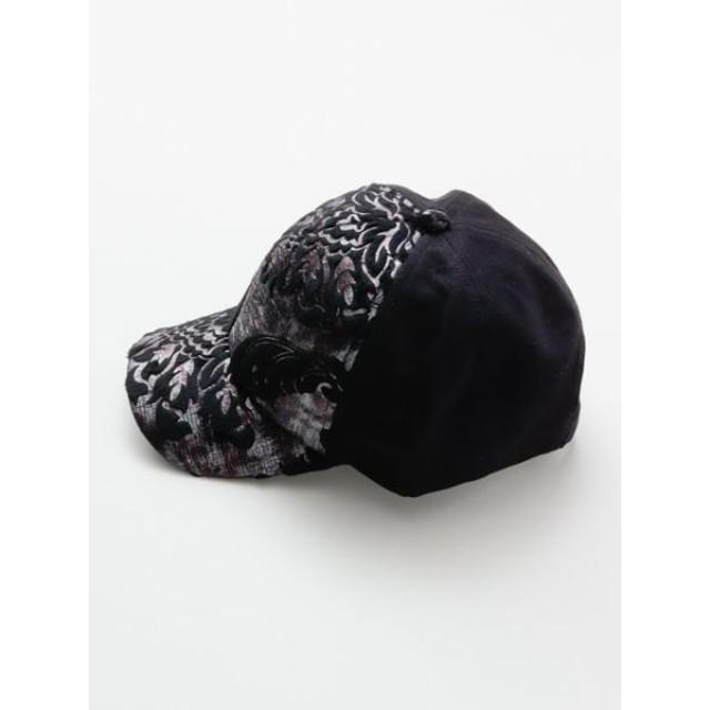 帽子全般 - チャイハネ 【チャイハネ】オリエンタル柄ベースボールキャップ