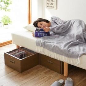 ベッド下にすっきり収納できる同人誌ワゴン