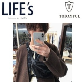 【P5】TODAYFUL トゥデイフル LIFEs ライフズ Leather Waist Pouch レザーウェストポーチ 【2019S/S】