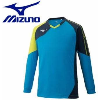 【メール便対応】ミズノ バレーボール ゲームシャツ 長袖 メンズ レディース V2MA902124