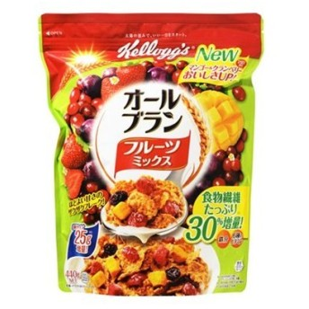 日本ケロッグ(同) ケロッグ オールブランフルーツM徳用 袋 440g