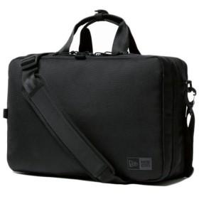ニューエラ(NEW ERA) ビジネスコレクション スリーウェイ ブリーフバッグ BRIEF BAG BUSINESS LINE ブラック 11901527 通勤 ビジネスバッグ ショルダーバッグ