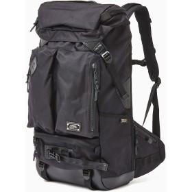 AS2OV AS2OV / アッソブ EXCLUSIVE BALLISTIC NYLON 2POCKET BACK PACK リュック・バッグパック,ブラック