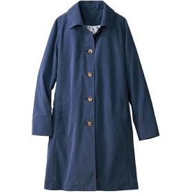 30%OFF【レディース】 花粉ガードステンカラーコート(中わたライナー付き)(軽量・手洗いOK) ■カラー:ネイビー ■サイズ:M