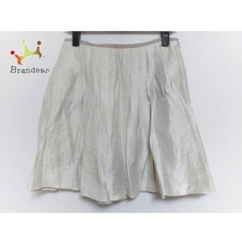ボディドレッシングデラックス スカート サイズ38 M レディース 美品 アイボリー×ベージュ     スペシャル特価 20191028