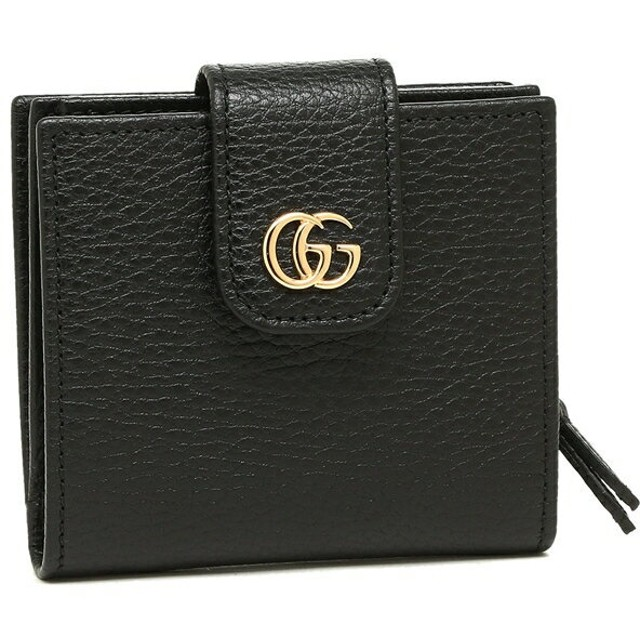 cd91af79a1a7 グッチ 財布 GUCCI 523193 CAO0G 1000 PETITE MARMONT GGマーモント プチマーモント ミニ財布 レディース  二つ折り