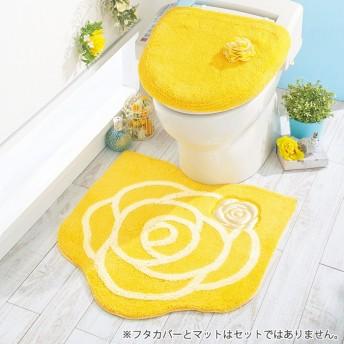 ベルーナインテリア 幸せを呼ぶハピネスローズトイレタリー ピンク 洗浄フタカバー