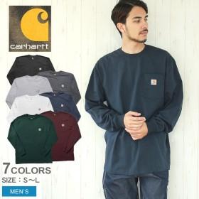 CARHARTT カーハート Tシャツ ワークウェア ポケット ロングスリーブ ロゴTシャツ RN14806 K126