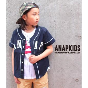 ANAP KIDS ベースボールシャツ
