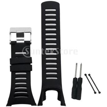 腕時計バンド ストラップ 交換用ストラップ ウォッチストラップ ブラック スントアンビシリーズ適用