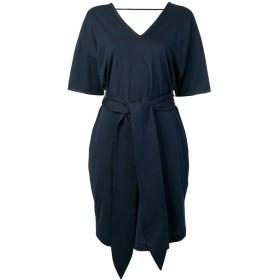 Brunello Cucinelli ショートスリーブ シフトドレス - ブルー