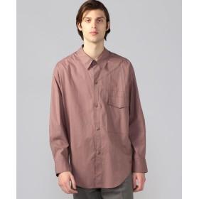 トゥモローランド ストレッチブロード デザインシャツ メンズ 75パープル 46 【TOMORROWLAND】