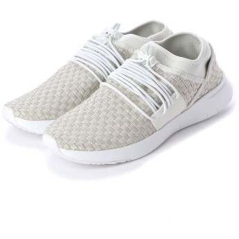 フィットフロップ fitflop STRIPKNIT LACE UP SNEAKER (Urban White)